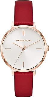 Michael Kors Women's Jayne Three-Hand Rose Gold-Tone Alloy Watch MK7103