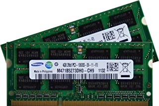 Samsung 8GB kit (2 x 4GB) DDR3 PC3 10600 1333MHz 204 PIN SODIMM ram memory upgrade for Apple iMac's - 2.8GHz Intel-Quad Core i5 mid 2010 ; 2.93GHz Intel Quad-Core i7 27