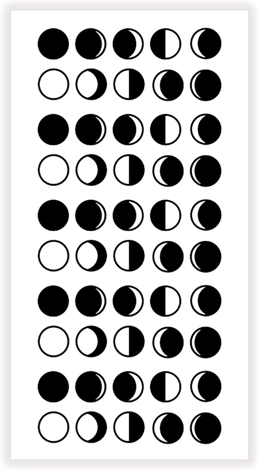 Nothing Phases Me Decal Permanent Vinyl Decal PRECUT Moon Phase Decal