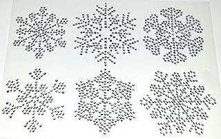 snowflake diamante embellishments