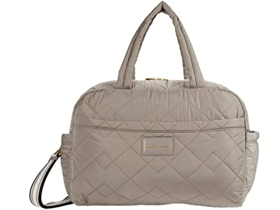 Marc Jacobs Quilted Nylon Large Bag (Cement) Duffel Bags