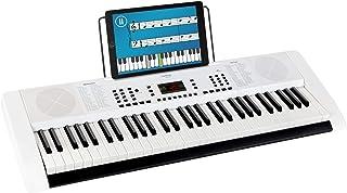 Funkey Keyboard Edition 61 (128 dźwięków, 128 rytmów, 10 utworów demo, zasilacz, stojak na nuty), biały