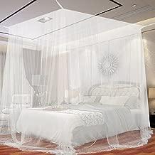 Mosquitera de cama cuadrada 2x2x2m KillMoustik ? Travel Earth ? Formato grande + Fijación y soporte incluido + 1 puerta integrada + Bolsa de transporte incluida. La mejor mosquitera de cama!