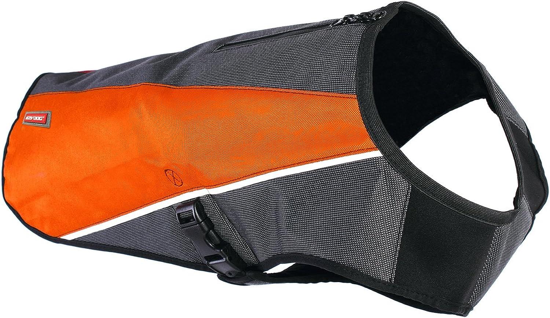 EzyDog Element Dog Jacket, XSmall, orange