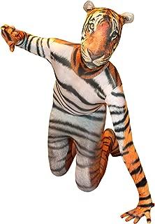 Morphsuits Tiger Kids Animal Planet Costume - Size Large 4'-4'6 (120cm-137cm)