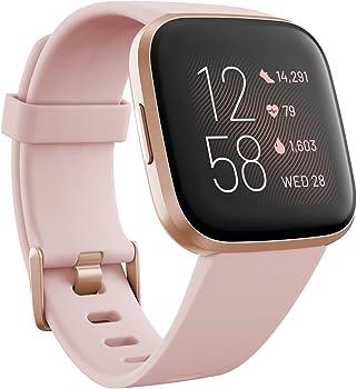 Fitbit Versa 2 Health & Fitness Smartwatch + $38 Kohls Rewards