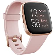 Fitbit Versa 2 Health & Fitness Smartwatch with Heart Rate, Music, Alexa Built-in, Sleep & Swim...