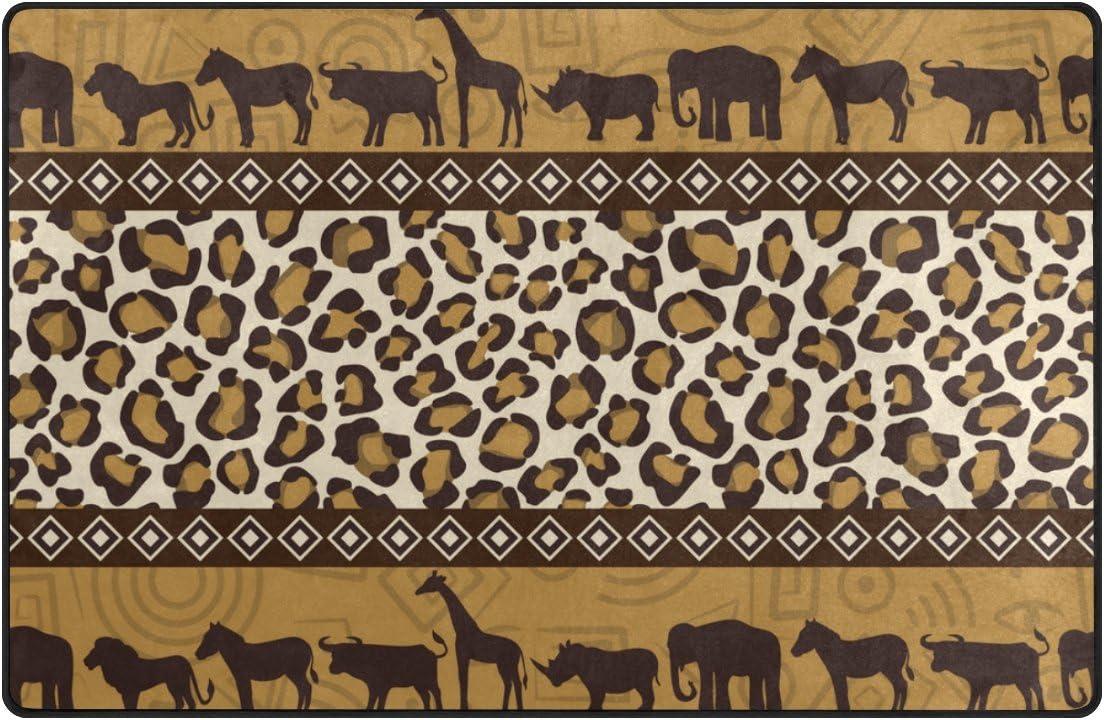 U Life Vintage Luxury African Popular overseas Wild Elephant Striped La Animals Giraffee