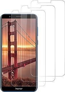 DOSNTO [3 Unidades Protector de Pantalla para Huawei Honor 7X Cristal Templado, [Resistente a Arañazos] [9H Dureza] Cristal Vidrio Templado Screen Protector Pantalla para Honor 7X- Transparente