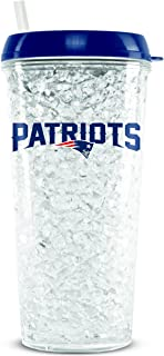 patriots tumbler with straw