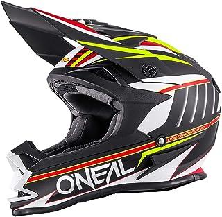 O'NEAL 7 Series Evo Motocross Enduro MTB Helm Chaser schwarz/weiß/gelb 2018 Oneal: Größe: XL (61 62cm)