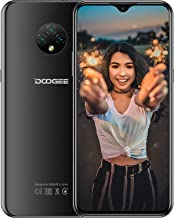 Teléfono Móvil Libres, DOOGEE X95 Smartphone Libre Android 10, Moviles Libres 4G Dual SIM, Pantalla 6,52 Pulgadas, 4350mAh Batería, 13MP+2MP+2MP+5MP, 16GB ROM, 128GB SD, Face ID - Negro