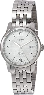 Tissot Le Locle Automatic Silver Dial Ladies Watch T006.207.11.038.00
