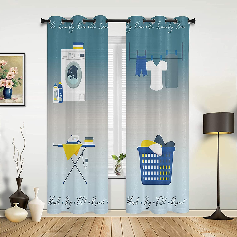 Bedroom Window Super intense SALE Curtain Panels Laundry Cloth Room Washing Machine Virginia Beach Mall