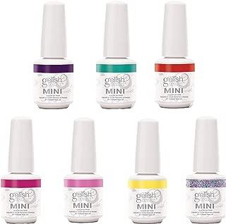 Gelish Mini 6 Color & 1 Glitter Overlay Gel Nail Polish, Rocketman Collection