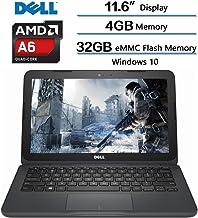 "2018 Dell Inspiron High Performance Laptop, AMD A6-9220e processor 2.5GHz, 11.6"" HD.."