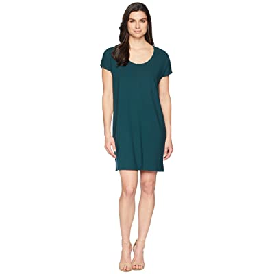Lilla P Easy Scoop Neck Dress (Sea Moss) Women