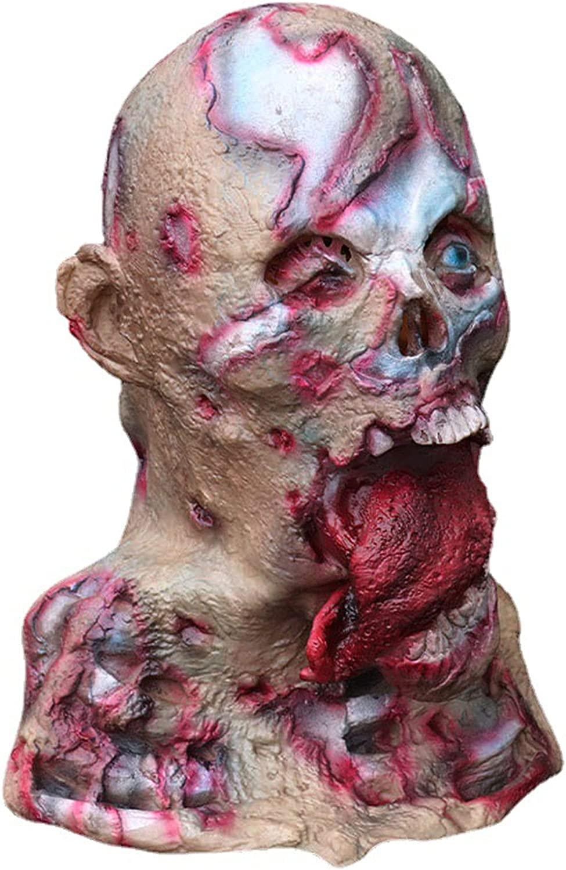 AJIU Halloween mask Zombie Vampire Corp Ranking TOP10 Mask Costume Super sale period limited Creepy