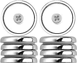 10 pezzi neodimio PENTOLA magnetico piatto gancio filettatura esterna 20 mm