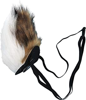 clip on deer tail