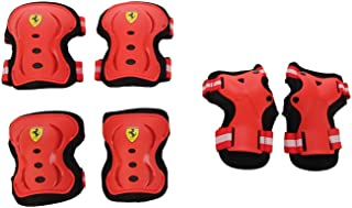 Ferrari FAP3REDL 滑板保护套装,红色,大号