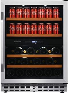 EdgeStar CWB8420DZ 24 Inch Built-In Wine and Beverage Cooler