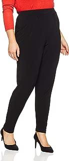 My Size Women's Plus Size Skinny Leg Harem Pant, Black