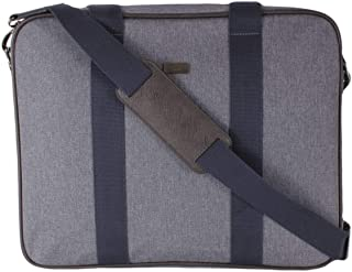 Ted Baker London Men's Runaway Nylon Document Bag, Grey Marl, O/S