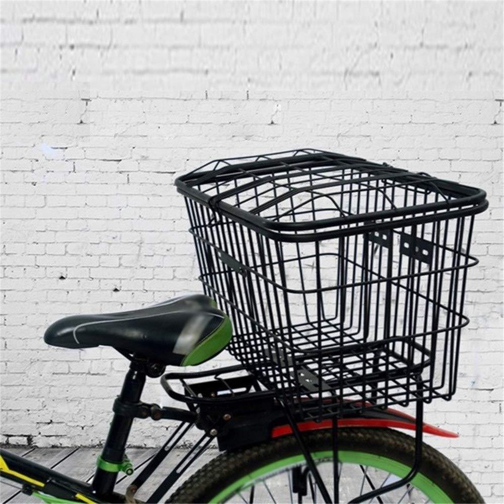 Gfdsase Cesta de Bicicleta Duradera Alambre Grueso Parrilla De ...