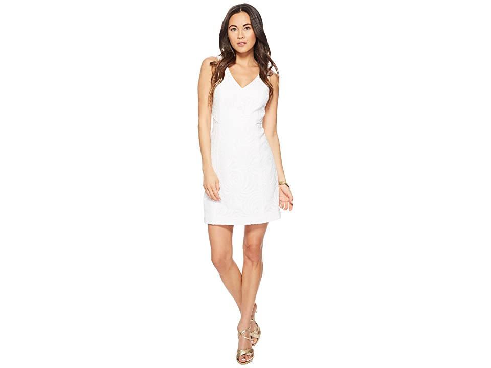 Lilly Pulitzer Blakely Shift (Resort White Sea Swirling Lace) Women