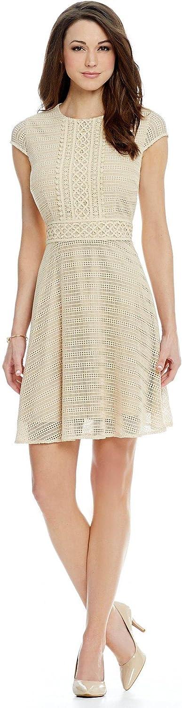 Antonio Melani Edana Lace Cap Sleeve Dress Size 12