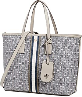 Tory Burch Womens Tote Bag, Gray Heron - 53304