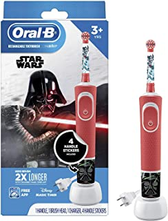 Oral-b Kids Electric Toothbrush featuring star Wars, for Kids 3+