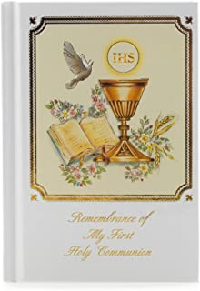 Remembrance My First Holy Communion Missal Classic White 5 x 4 Paper Gift Book