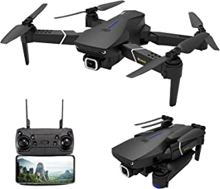 GPS Drone with 4K Camera for Adults,EACHINE E520S 5G WiFi FPV Live Video Foldable Drone GPS Return Home 1200Mah 16mins Flight Time 120° Wide Angle HD Camera RC Drone Quadcopter for Kids Beginners