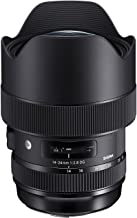 Sigma 4212954 14-24mm f/2.8 DG HSM Art Lens for Canon, Black