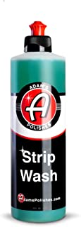 Adam's Strip Wash - Safely Strips Wax & Sealants Won't Dry Plastic, Rubber & Ceramic Coating Safe - Effective Cleaner Thic...