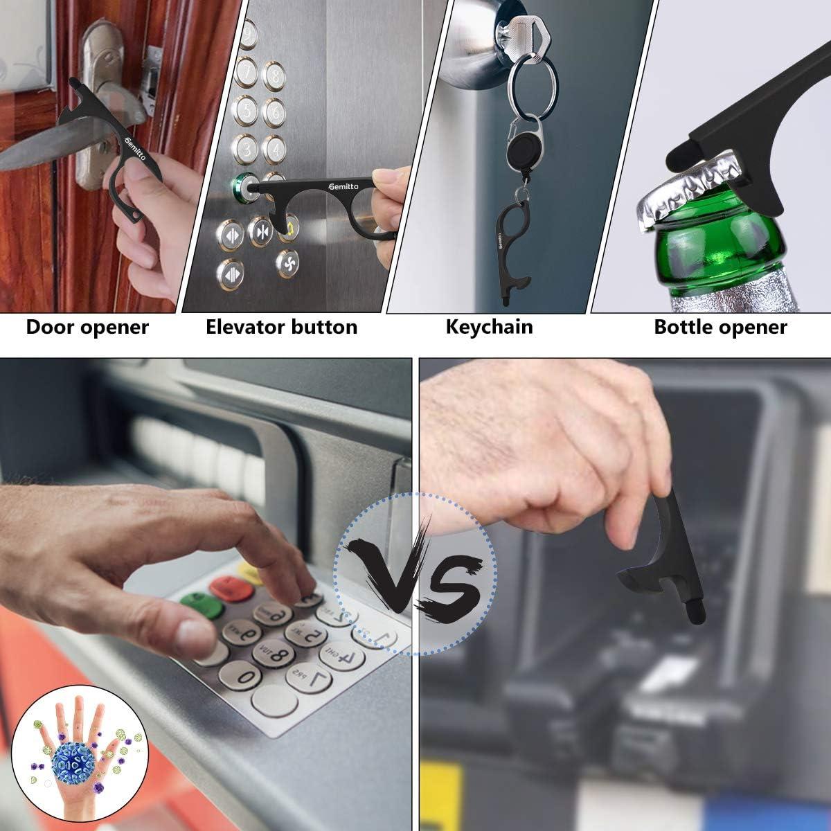 GEMITTO Contactless Door Opener Tool Door Opening Artifact Key ...