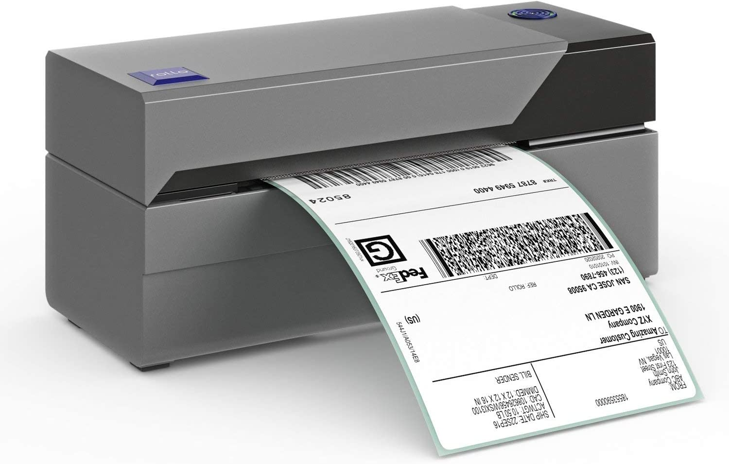 Rollo Label Printer – Commercial Grade Direct Thermal High Speed Printer – Compatible with Amazon, Ebay, Etsy, Shopify – 4×6 Label Printer (Renewed)