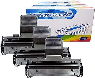 Inktoneram Compatible Toner Cartridges Replacement for Dell 1110 1100 310-6640 310-7660 (Black, 3-Pack)