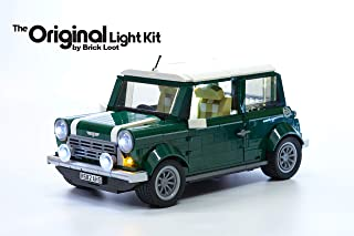 Brick Loot Lighting Kit for Your Lego Mini Cooper Set 10242 Lego Set NOT Included