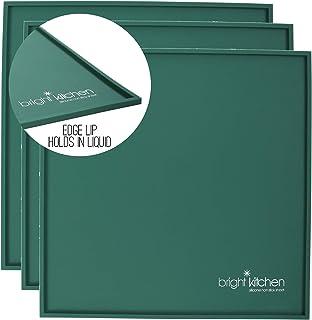 Lot de 3 feuilles en silicone pour déshydrateur Excalibur Bright Kitchen 35,6 x 35,6 cm