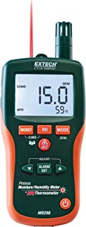 Extech MO290 – Pinless Moisture Meter and Ir Thermometer