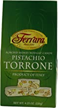 Ferrara Almond Honey Nougat with Pistachios Torrone Miniatures