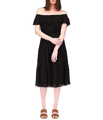 MICHAEL Michael Kors Off Shoulder Midi Dress