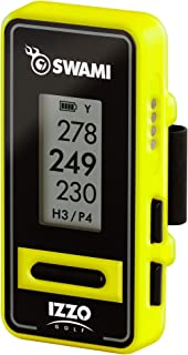 Izzo Golf Swami Clip-On Golf GPS With Voice Feature, Yellow photo