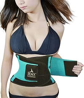 Jenx Fitness Unisex Waist Trimmer, Light Green,  X-Large