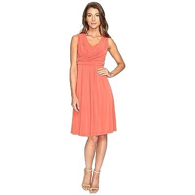 NIC+ZOE City Retreat Dress (Cinnabar) Women
