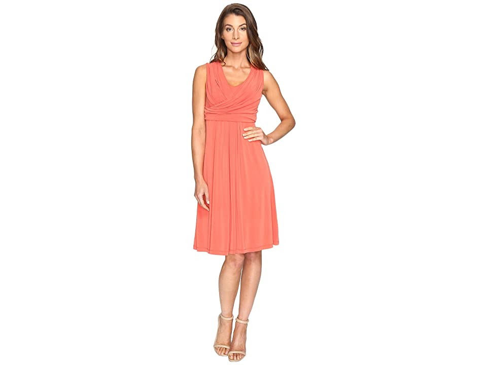NIC+ZOE City Retreat Dress (Cinnabar) Women