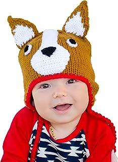 Boys or Girls Corgi Dog Beanie Hat